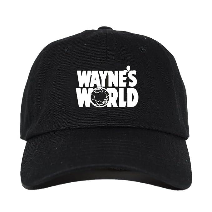 Wayne s World Embroidered Halloween Cosplay Party Costume Adjustable Baseball  Cap (DAD ... d4255860363
