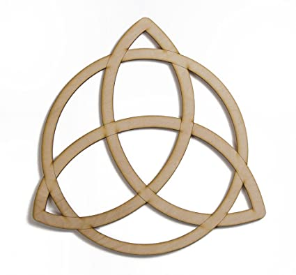 Amazon.com: Trinity Knot Celtic Wooden 12\