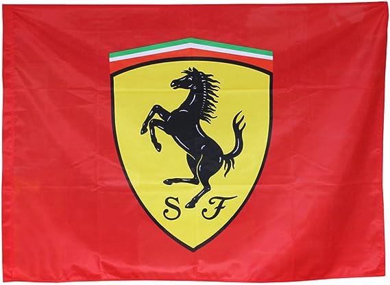 Bandera Scuderia Ferrari Oficial 120x90cm.: Amazon.es: Hogar