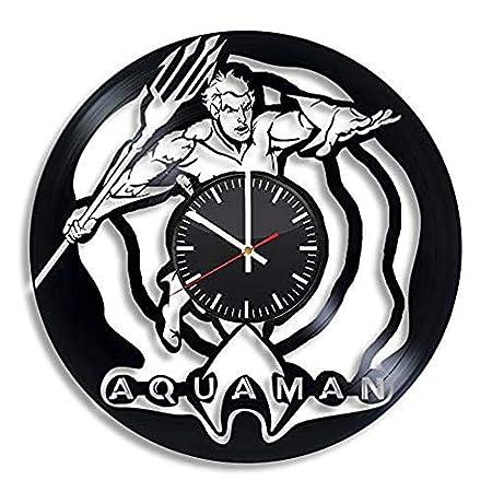 Yddlie Comics Reloj de pared Vinyl Record Decoración de arte ...