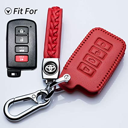 Anti-scratch Remote Keyless Entry Car Key Case Fob Cover for Toyota