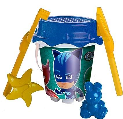 P.J Masks - Set playa cubo (Mondo Toys 311039)