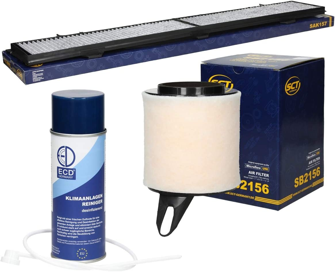 Inspektionspaket Wartungspaket Filterset Filtersatz 1 X Innenraumfilter Mit Aktivkohle Stabiler Kunststoffrahmen Umlaufende Dichtung 100 Passgenau 1 X Luftfilter Auto