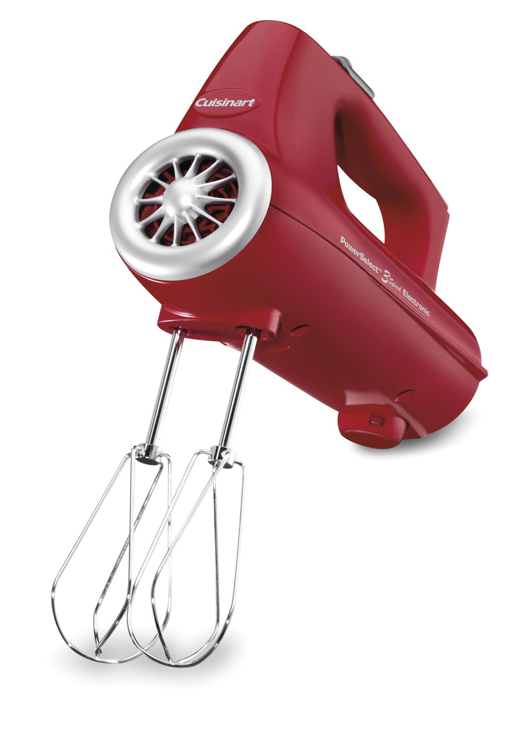 Amazon.com: Cuisinart CHM-3R Electronic Hand Mixer 3-Speed, Red ...