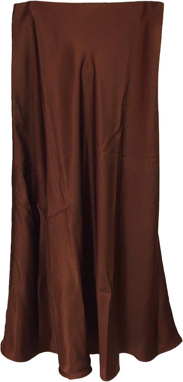 Massimo Dutti 5207/527/700 - Falda para Mujer (Efecto Satinado ...