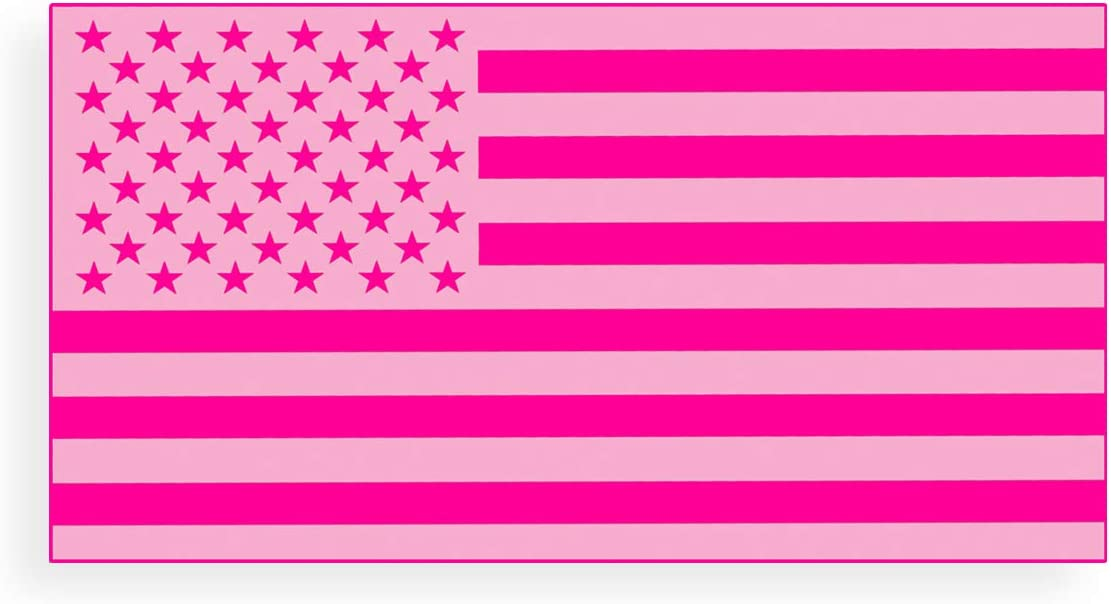 American Flag Vinyl Decal printed sticker 2 stickers