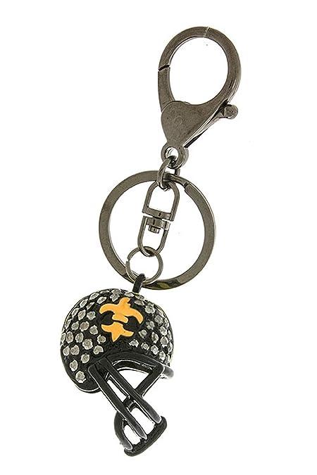 797948aa8162 Trendy Fashion Jewelry Fleur de Lis casco llavero de moda destino  Fashion  Destination  Amazon.es  Joyería