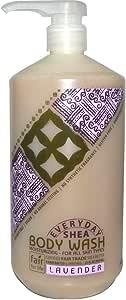 Everyday Shea Moisturizing Body Wash Lavender 32 fl oz (950 ml)