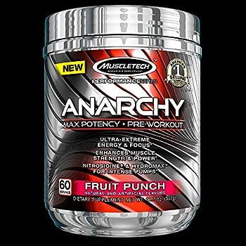 Amazon.com: muscletech anarchy max potency pre workout powder