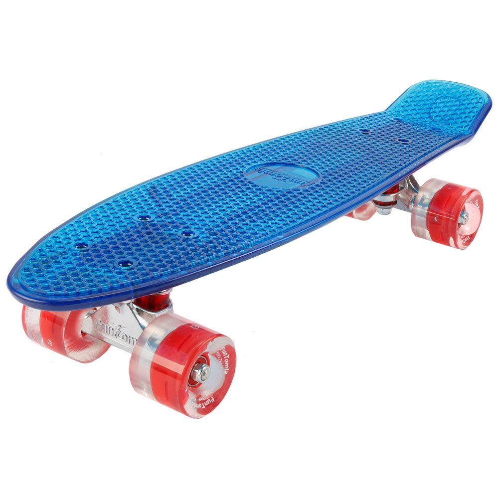 FunTomia Mini Board monopatín Skateboard cm Con o sin LED Ruedas Wheel