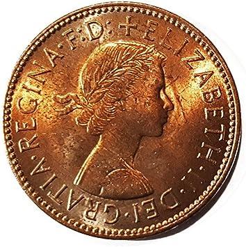 Stampbank Monedas para coleccionistas - Fuera de circulación británico 1967 Halfpenny / Half Penny Coin / Gran Bretaña: Amazon.es: Juguetes y juegos