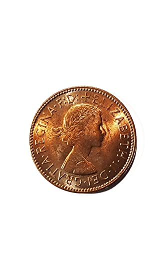 Coins for collectors - Uncirculated British 1967 Halfpenny / Half Penny  Coin / Great Britain
