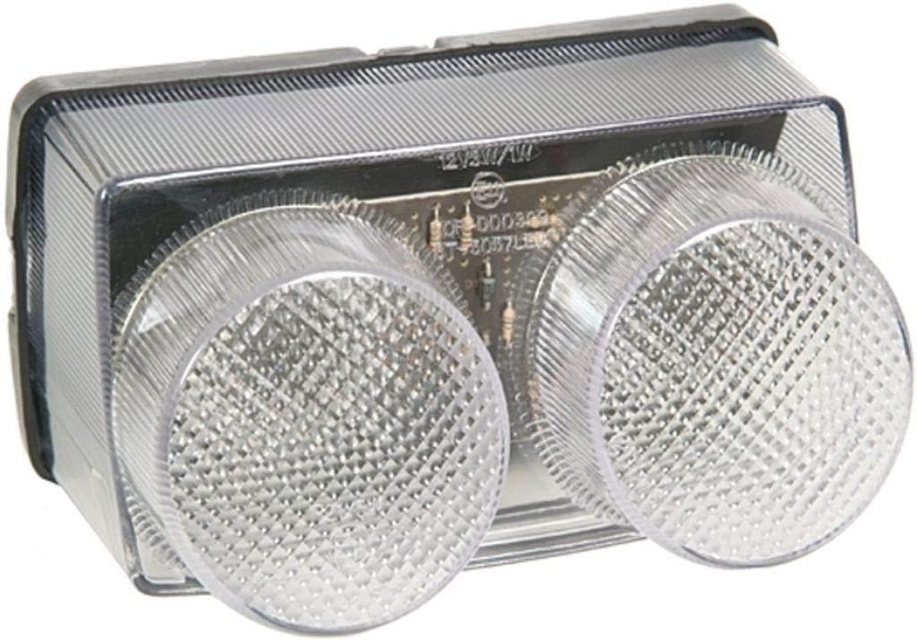 e-gepr/üft LED-R/ücklicht klar f/ür Yamaha YZF-R1 1998-1999 RN01