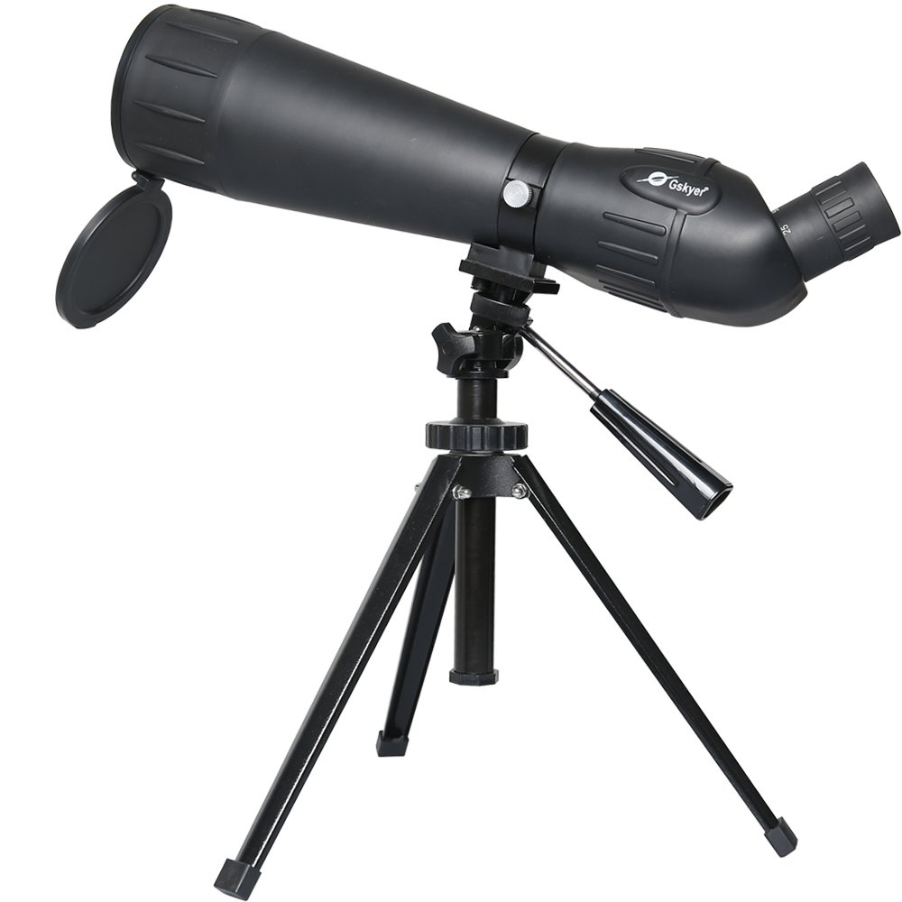 Gskyer Spotting Scope, 25-75x75 Bird Watching Telescope, Target Shooting Monocular
