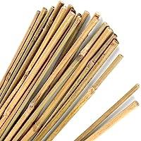 Pllieay Estacas de bambú Gruesas Naturales Estacas de jardín Bastones de bambú para Soportes de Plantas de jardinería en…