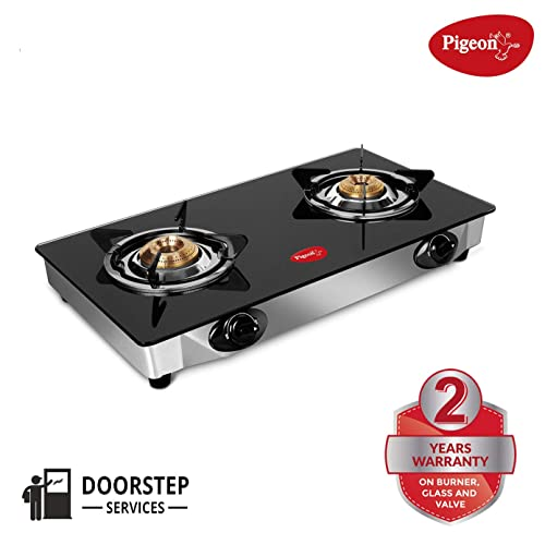 5. Pigeon By Stovekraft Favourite 2-Burner Gas Stove