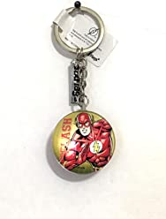 Six Flags Magic Mountain DC Comics The Flash Double Sided Acrylic Keychain