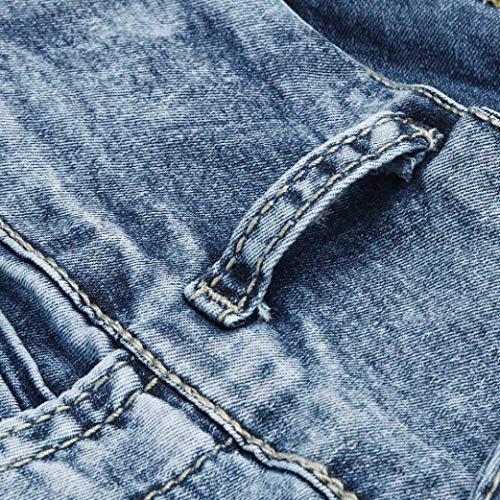 Uni Bleu Jeans Jean Femme Clair Holywin Ew0qC7T