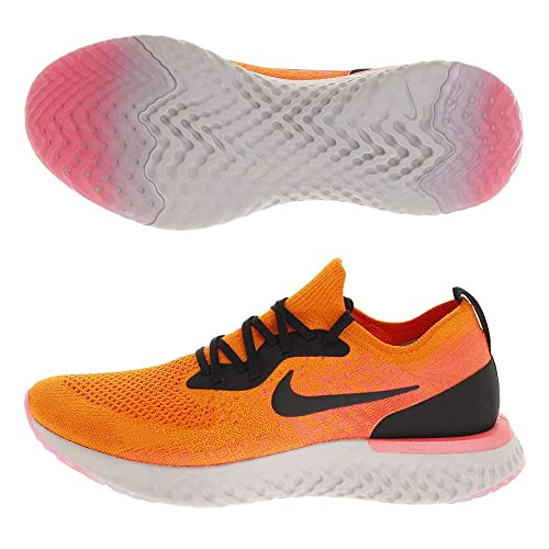 size 40 20063 c2984 Nike Epic React Flyknit, Scarpe Running Uomo, Multicolore (Copper  Black Flash Crimson