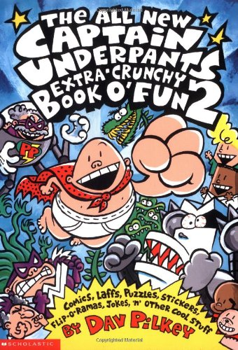 names of all captain underpants books