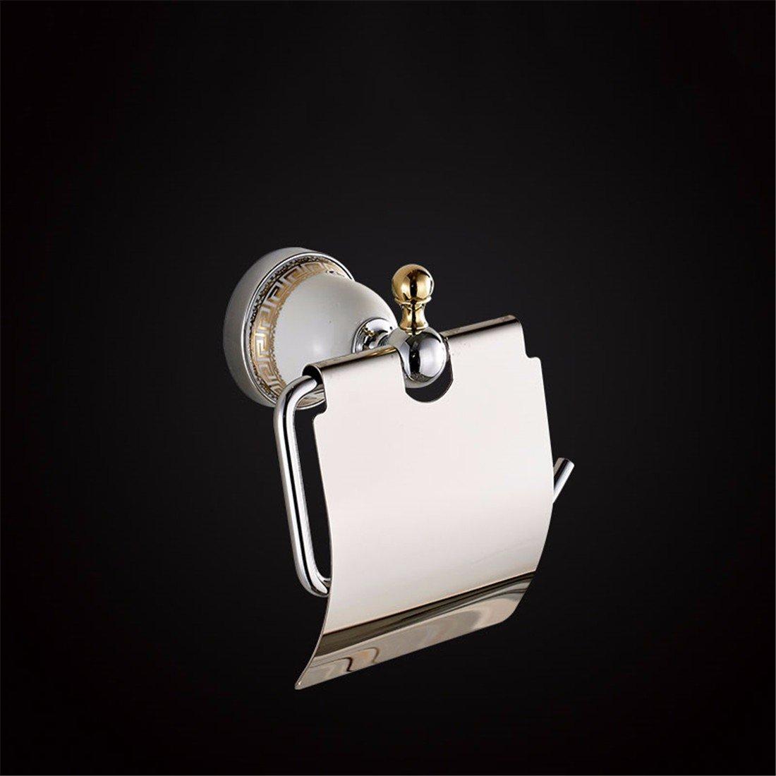 SADASD cobre cromo cromo cromo Portarrollos de Cerámica Juego de accesorios de baño para colgar en la pared estilo pastoral 18f72b