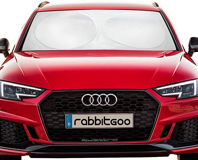 Leoboone Pare-soleil de voiture de haute qualit/é pliable pour pare-brise avant arri/ère et pare-soleil r/éfl/échissant