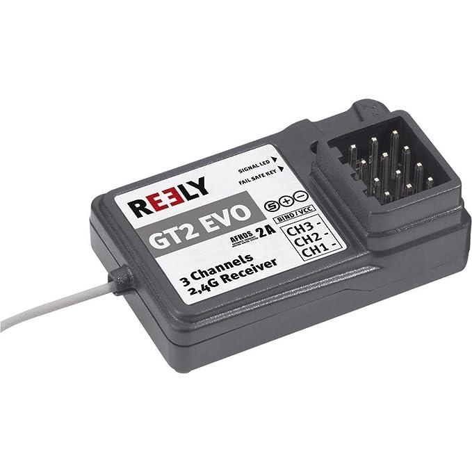récepteur 3 canaux Reely FS-A3 2,4 GHz Système de connecteur JR