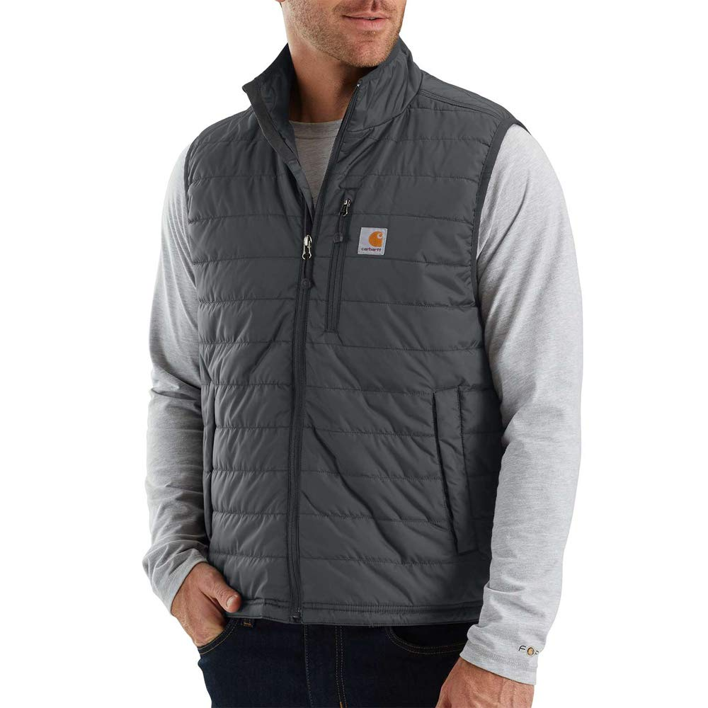 Carhartt Men's Gilliam Vest (Regular and Big & Tall Sizes), Shadow, Large by Carhartt