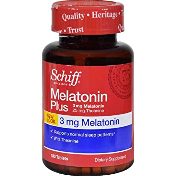 Image Unavailable. Image not available for. Color: Schiff Melatonin Plus 180 Tablets