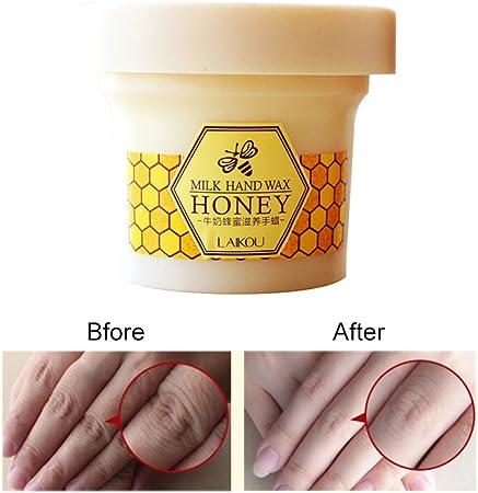 Hand Mask Hand Peel Mask Nourishing Starry Glitter Hand Wax Mask Exfoliating Milk Moisturizing Hand Care Cream