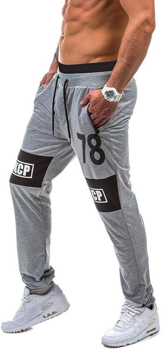 Pantalones de Deporte Hombre Pantalones de Chándal para Hombre ...