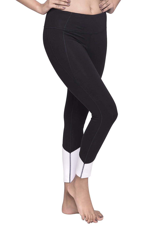 MAHA CAPRI Organic Cotton Yoga Capri Crop Pant with Hidden Pocket from Satva