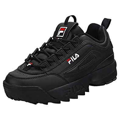 Fila Disruptor 2 Damen Sneaker Black White - 6 UK: Amazon.de: Schuhe ...