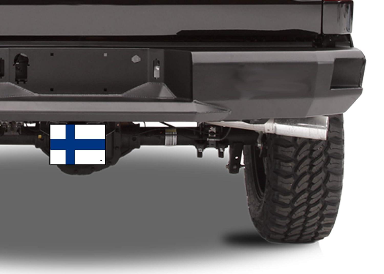 Rogue River Tactical Finland Finnish Flag Trailer Hitch Cover Plug Gift Idea Finn VV709