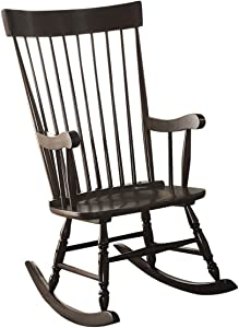 ACME Furniture Arlo 59297 Rocking Chair, Black, One Size