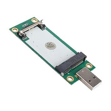 Amazon.com: Mini PCI-E tarjeta de adaptador inalámbrico a ...