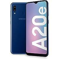 "Samsung Galaxy A20e Display 5.8"", 32 GB Espandibili, RAM 3 GB, Batteria 3000 mAh, 4G, Dual SIM Smartphone, Android 9 Pie, (2019) [Versione Italiana], Blue"