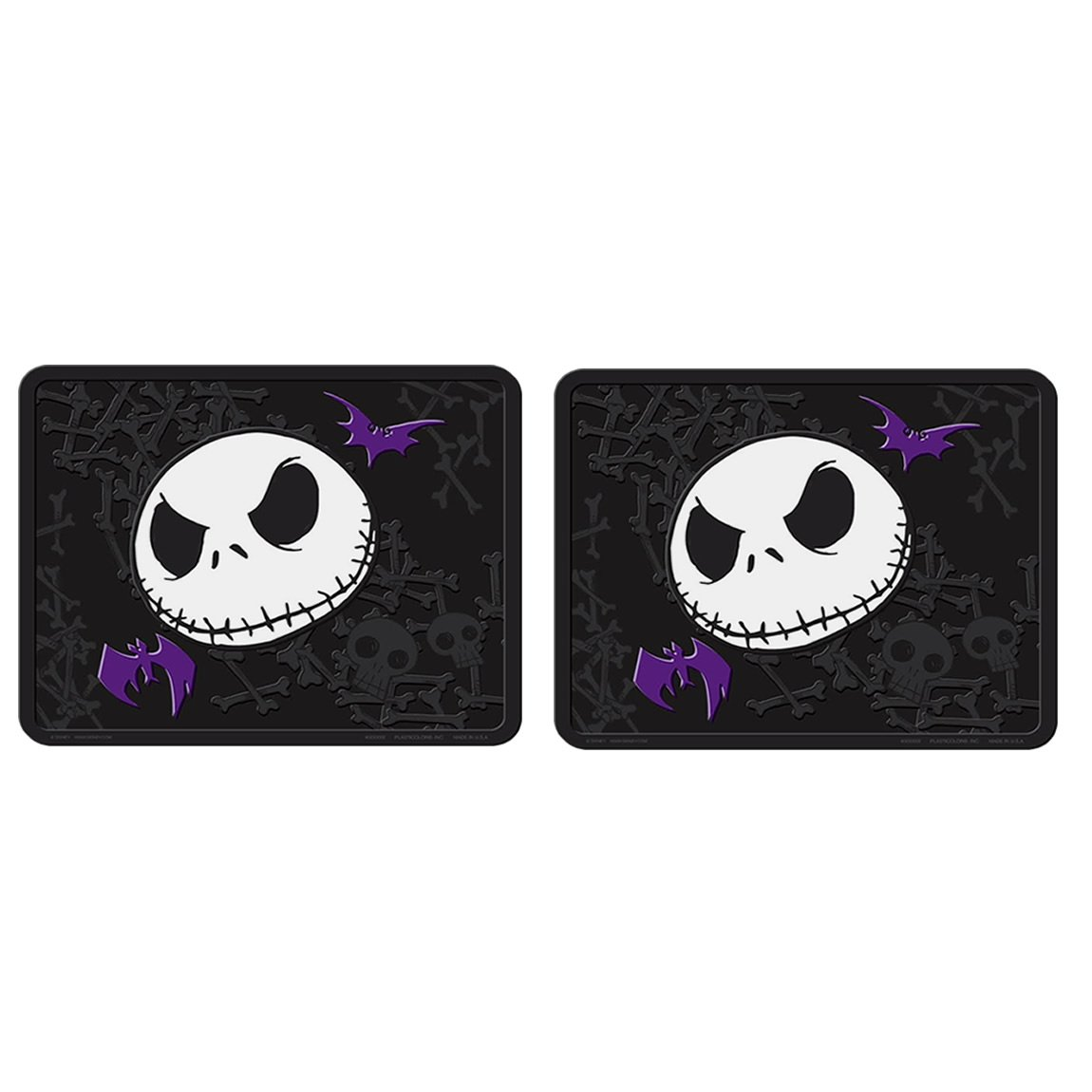 Amazon.com: 7pc Nightmare Before Christmas Jack Skellington Seat ...