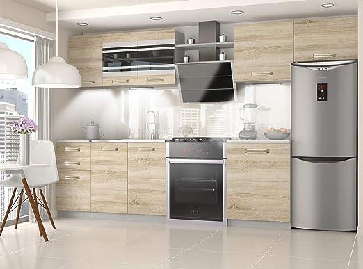 Muebles Cocina Completa, 300 cms, Modulos de cocinas ref-13 ...
