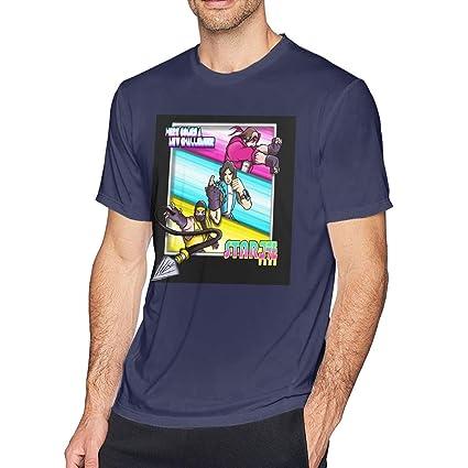 Amazon.com: Starbomb Ninja Brian Mens Short Sleeve T-Shirt Navy