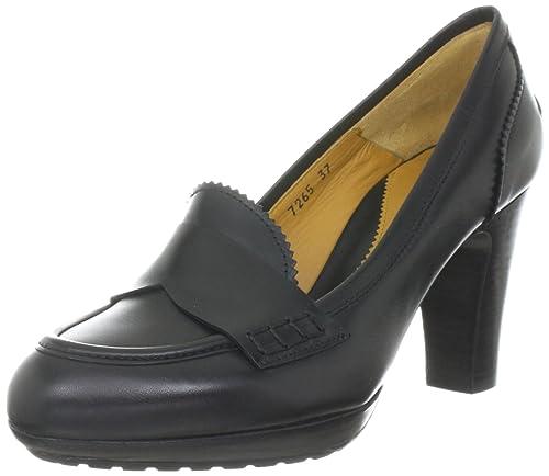 Lottusse S7265 - mocasines de cuero mujer, color negro, talla 41: Amazon.es: Zapatos y complementos