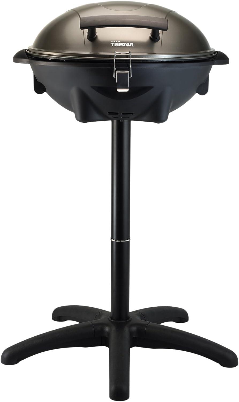 Tristar BQ-2816 Barbacoa para Mesa/de pie, Negro, 50x49x31 cm