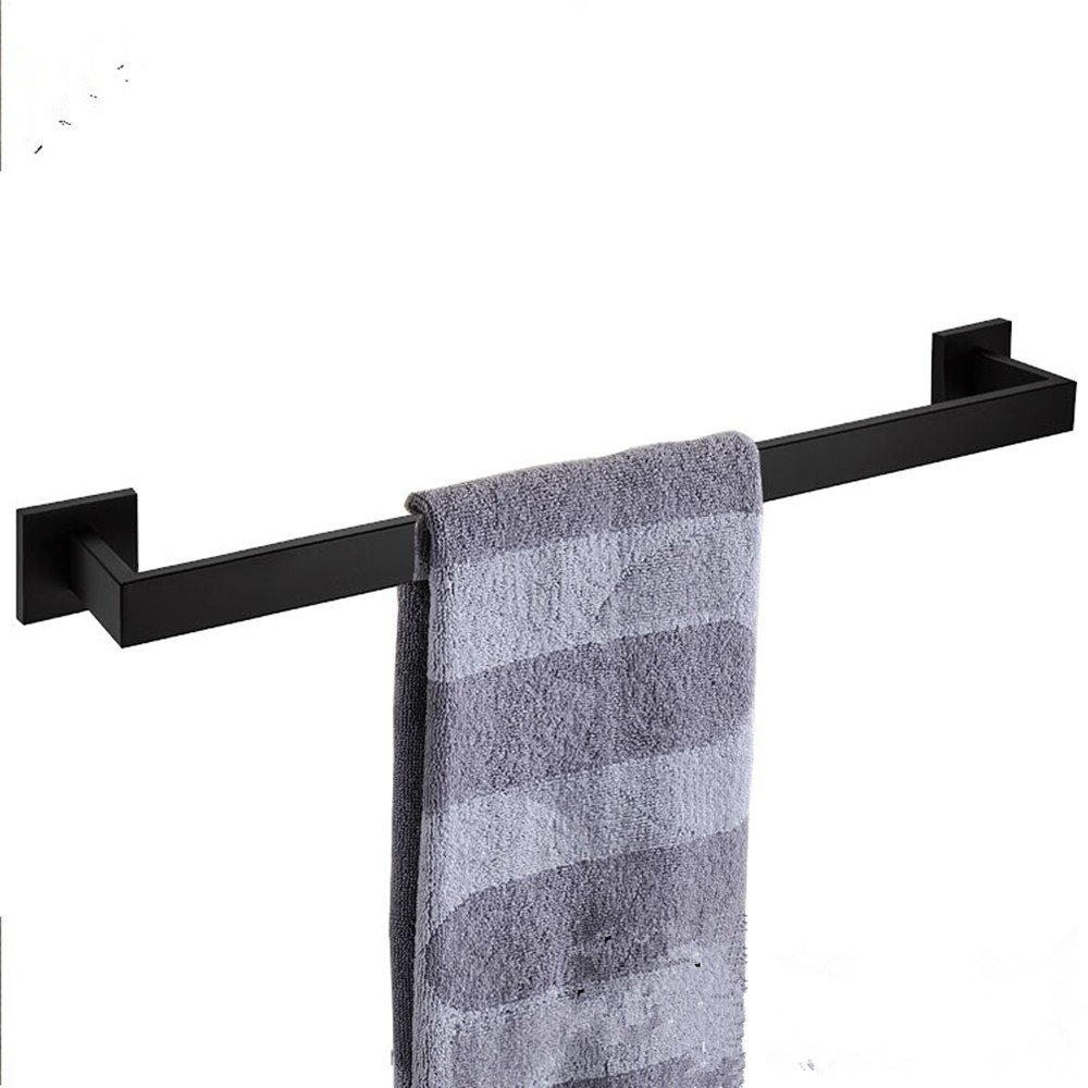 Ruddock RY3S5 Square Chrome Stainless Steel Bathroom Towel Racks Contemporary Polished Towel Bar NuoBin Trade Co. Ltd