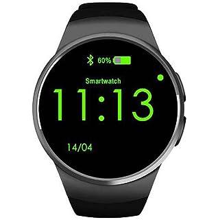Smart Watch Reloj Inteligente Bluetooth con Pantalla táctil Tarjeta SIM y cámara TF Tarjeta Soporte podómetro para Android…