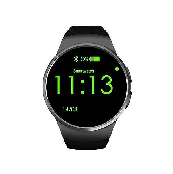 Smart Watch Reloj Inteligente Bluetooth con Pantalla táctil Tarjeta SIM y cámara TF Tarjeta Soporte podómetro