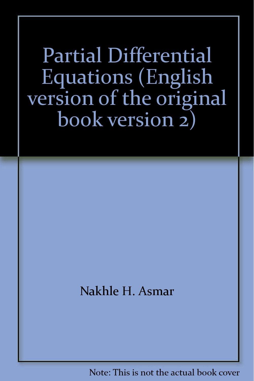 Partial Differential Equations (English version of the original book version 2) pdf epub