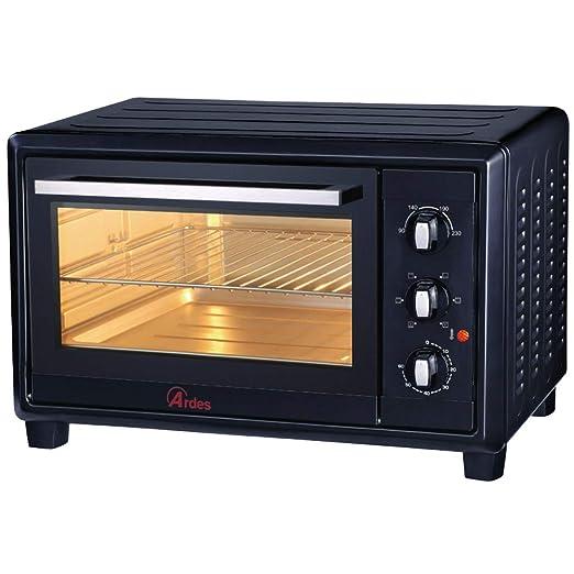 Ardes Mini horno eléctrico de convección negro 40 L, 1500 W ...