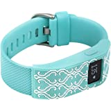 XO Your Sister- Fitbit Charge/Fitbit Charge HR Slim Designer Sleeve - Band Cover