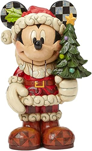 Jim Shore for Enesco Disney Traditions by Large Nutcracker Mickey Figurine, 13.75-Inch