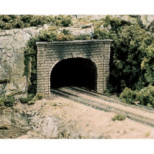 (Cut Stone HO Tunnel Portals Woodland Scenics by Woodland)